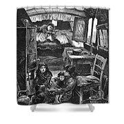 Gypsy Wagon, 1879 Shower Curtain