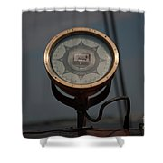 Gyro Compass Repeater Shower Curtain