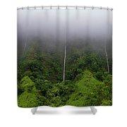 H-3 Waterfalls Shower Curtain