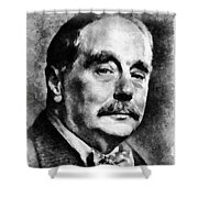 H. G. Wells Author Shower Curtain