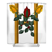 H Is For Hope Shower Curtain