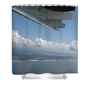 H144 And Clouds Shower Curtain