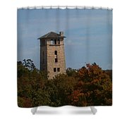 Ha Ha Tonka Water Tower Shower Curtain