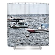 Habana Ocean Ride Shower Curtain