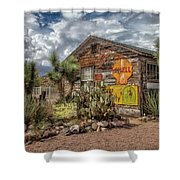 Hackberry General Store Shower Curtain