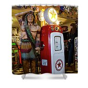 Hackberry Route 66 Arizona Shower Curtain