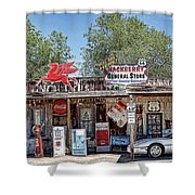 Hackberry General Store On Route 66, Arizona Shower Curtain