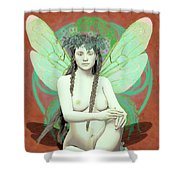 Hada Del Bosque Shower Curtain