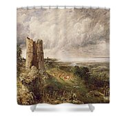 Hadleigh Castle Shower Curtain by John Constable