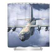 Haf C-130 Hercules Shower Curtain
