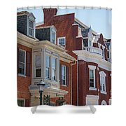 Hagerstown Cityscape Shower Curtain
