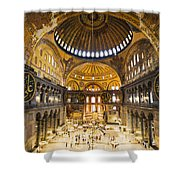 Hagia Sophia Interior Shower Curtain