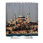 Hagia Sophia - Istanbul Turkey Shower Curtain