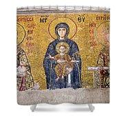 Hagia Sophia Mosaic Shower Curtain
