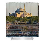 Hagia Sophia On The Bosphorus  Shower Curtain