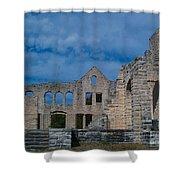 Haha Tonka Castle 1 Shower Curtain