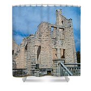 Haha Tonka Castle 2 Shower Curtain