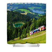 Hahnenkamm - Kitzbuehel Shower Curtain
