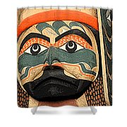 Haida Faces Shower Curtain