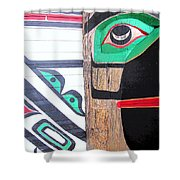 Haida One Shower Curtain