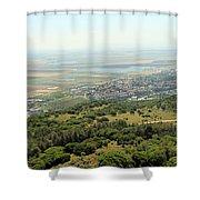 Haifa Natural Park Shower Curtain