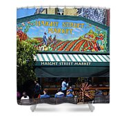 Haight Steet Market San Francisco Shower Curtain