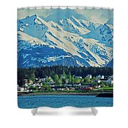 Haines - Alaska Shower Curtain