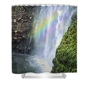 Haines Falls Island Of Dominica Shower Curtain