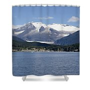 Haines Harbor Shower Curtain
