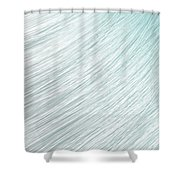 Hair Blowing Closeup Shower Curtain