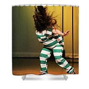 Hair Fly Shower Curtain