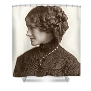 Hairstyle, C1900 Shower Curtain