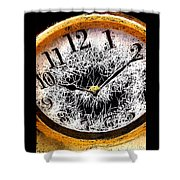 Hairy Times Shower Curtain