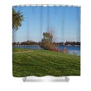 Haithco Park Shower Curtain