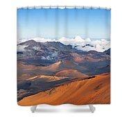 Haleakala Crater Shower Curtain