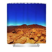 Haleakala  East Maui Volcano Shower Curtain