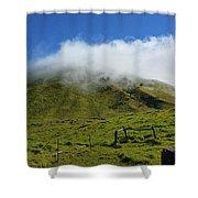 Haleakala Landscape Shower Curtain