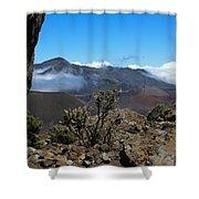 Haleakala Overlook Shower Curtain