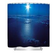 Haleakala Sunburst Shower Curtain