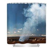 Halemaumau Crater 2016 Shower Curtain