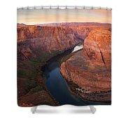 Half Bend Sunrise Shower Curtain
