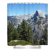 Half Dome 2 Shower Curtain