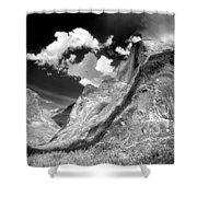 Half Dome - Alternative View - Yosemite Shower Curtain
