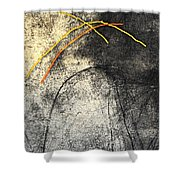 Half Dome Roots Shower Curtain