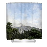 Half Dome Yosemite National Park Shower Curtain