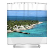 Half Moon Cay Shower Curtain