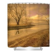 Half Reflections Shower Curtain