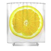 Half The Orange Shower Curtain
