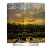 Haliburton Sunrise Shower Curtain