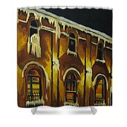 Halifax Ale House In Ice Shower Curtain